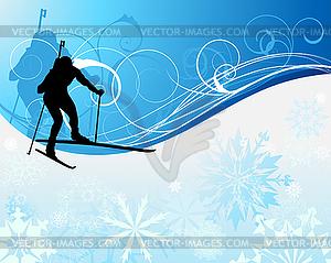 Biathlon Clipart.