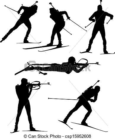 Biathlon Stock Illustration Images. 500 Biathlon illustrations.