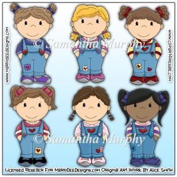 Bib Overall Kids Heart Clip Art Download.