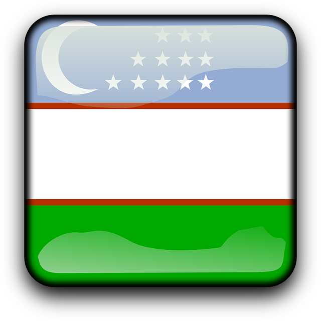 Free vector graphic: Uzbekistan, Flag, Country.