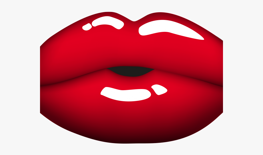 Lips Clipart Big Red.