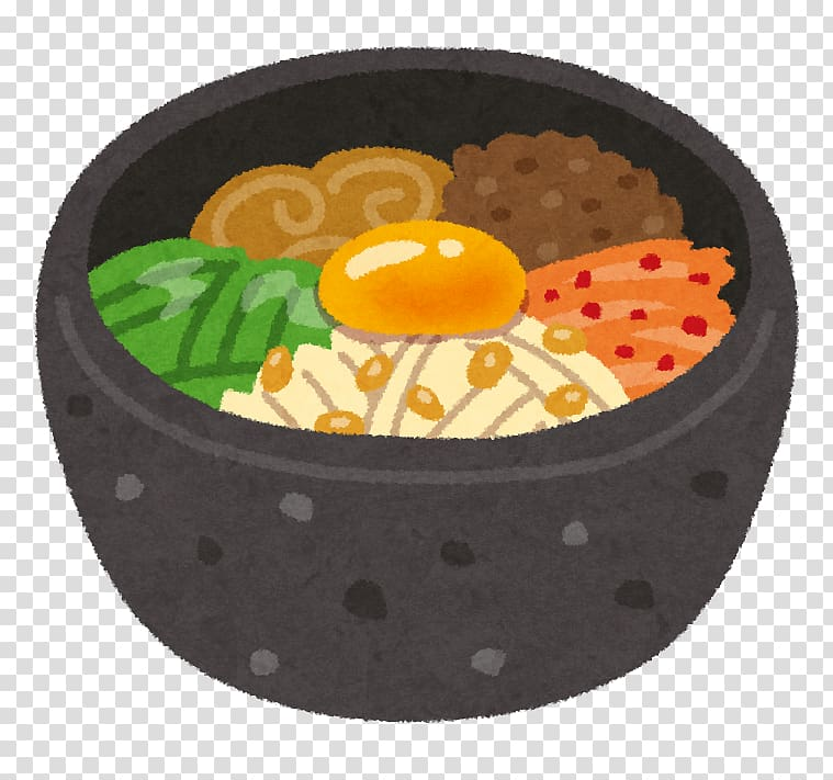 Bibimbap Korean cuisine Bento Onigiri Ishiyaki, cooking.