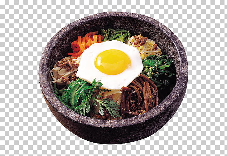 Bibimbap Korean cuisine Tteok.