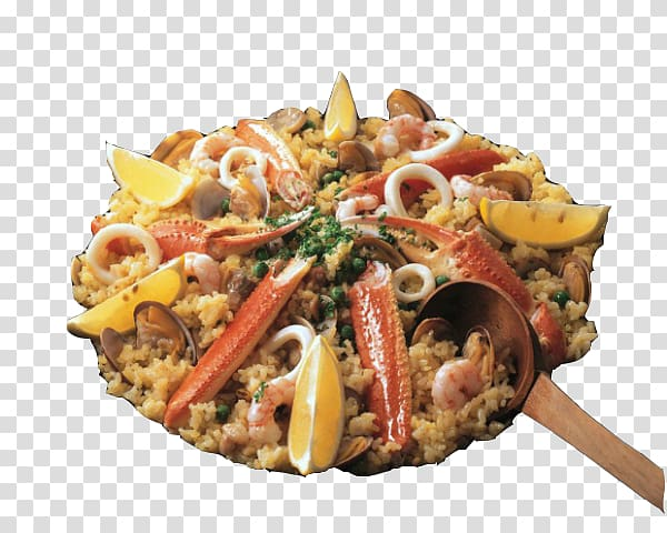 Paella Spanish Cuisine Seafood Arrxf2s negre Fried rice.