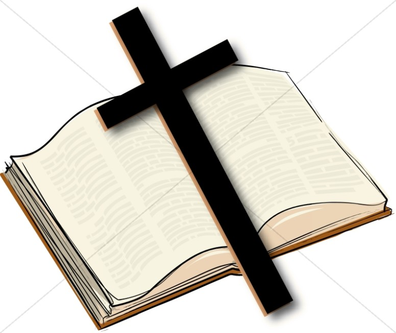 Bible and cross clipart 5 » Clipart Station.