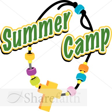 Christian camp clipart.