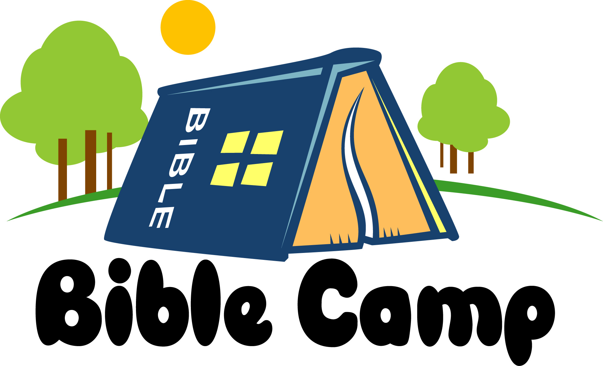 Free bible camp clip art.
