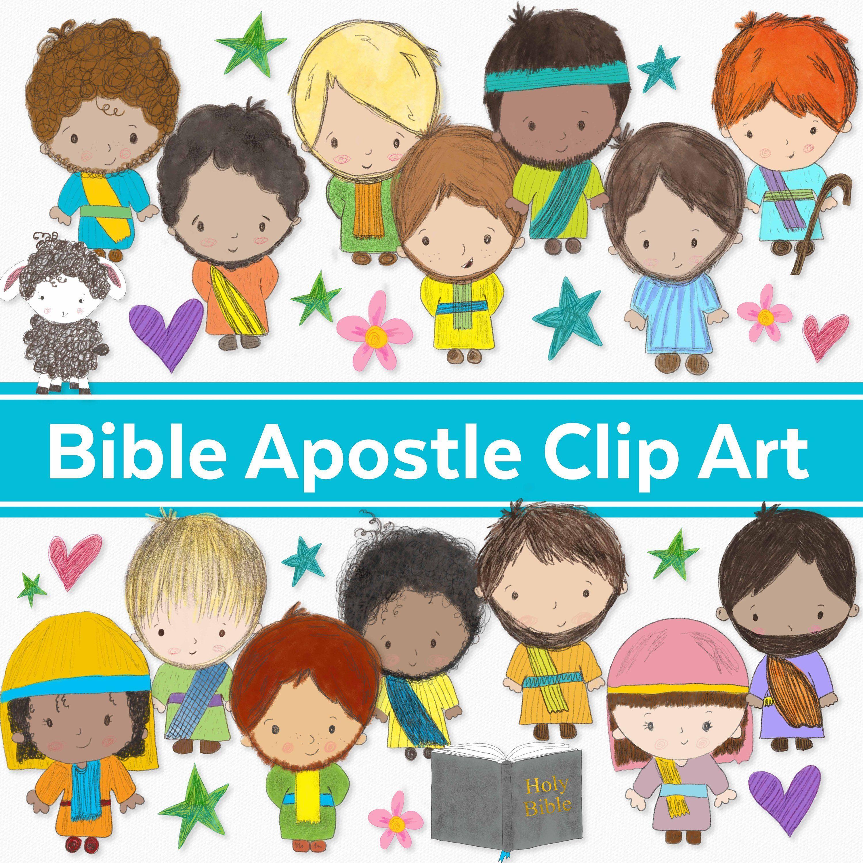Bible Apostle/Disciple Clip Art.