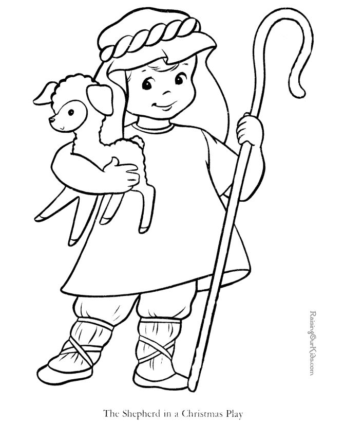 Printable Bible Coloring Pages For Preschoolers.