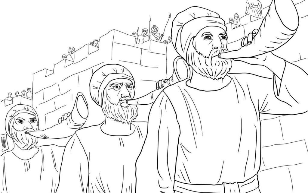 Joshua And Caleb Spies Clipart Studying Bible Characters.