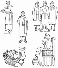Bible characters clipart black and white 4 » Clipart Station.
