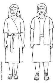 Image result for bible characters clipart black and white.