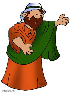 Bible Characters Clip Art.