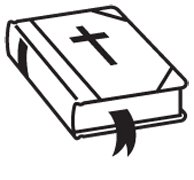 Bible clipart black and white 5 » Clipart Station.
