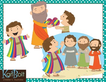 Joseph And The Coat Of Many Colors Worksheets & Teaching.