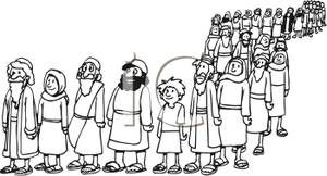 Bible crowd clipart » Clipart Station.