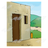 Bible House Clipart.