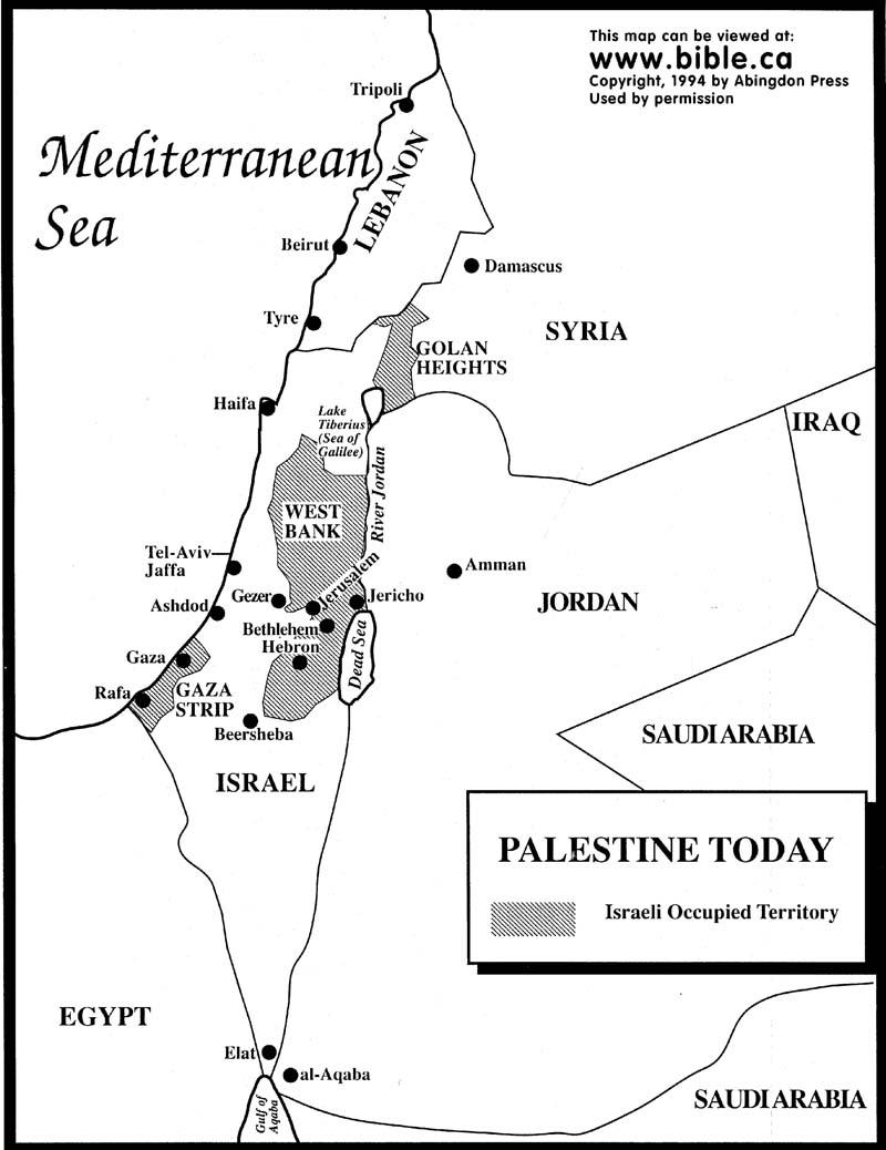 Bible Map Clipart.