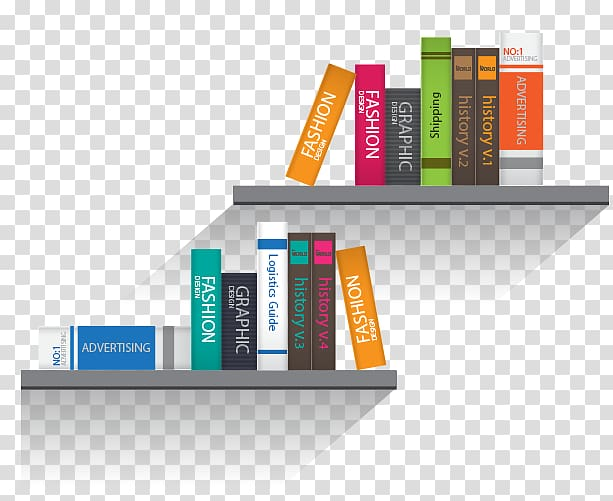 Shelf Bookcase, book transparent background PNG clipart.