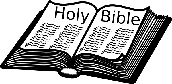 Open holy bible clipart 2 » Clipart Portal.