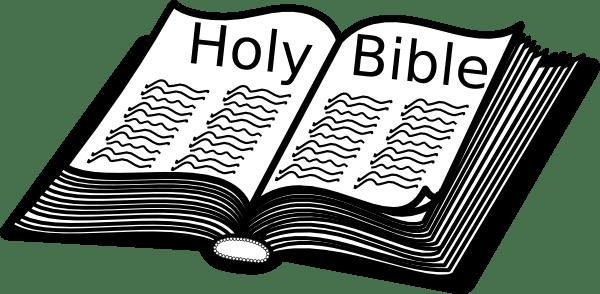 Open holy bible clipart 2 » Clipart Portal.