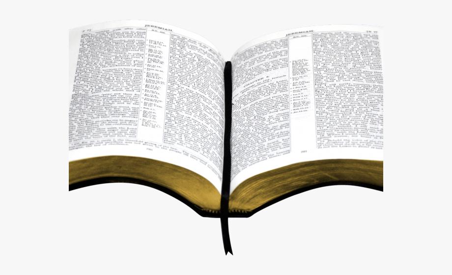 Open Bible Clipart.