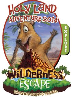 Wilderness Escape VBS 2014 Rock Badger Bible Memory Buddy clip art.