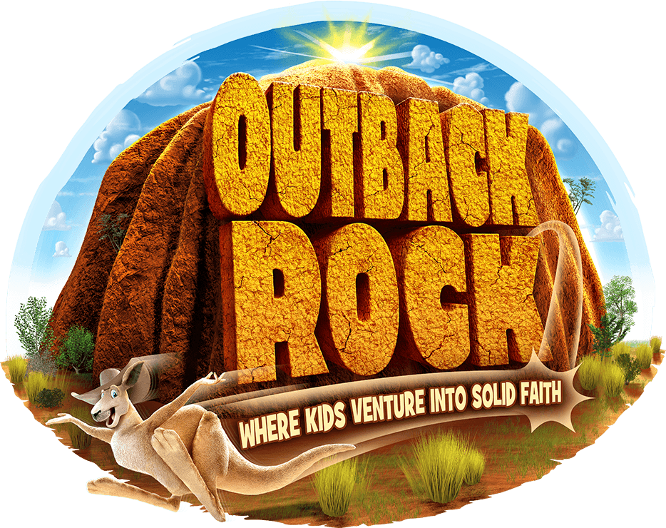 Outback rock vbs clipart.
