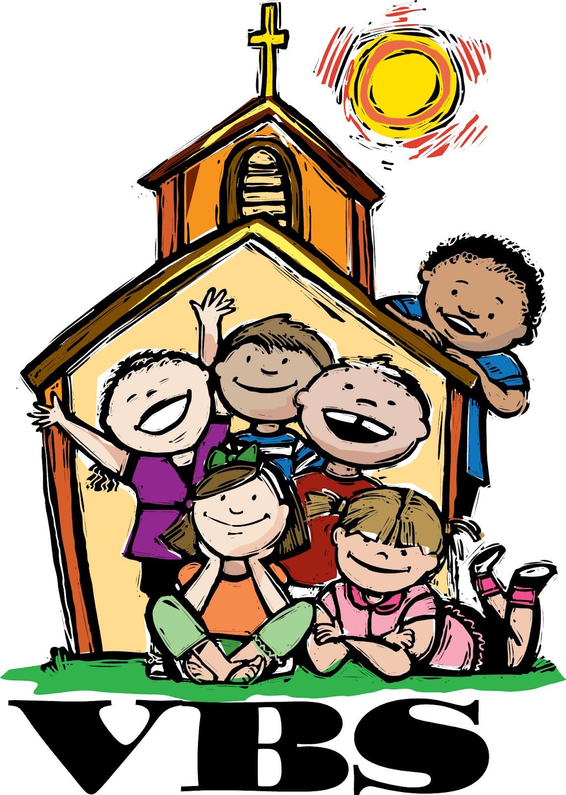 Free Church Vacation Bible School Clip Art free image.