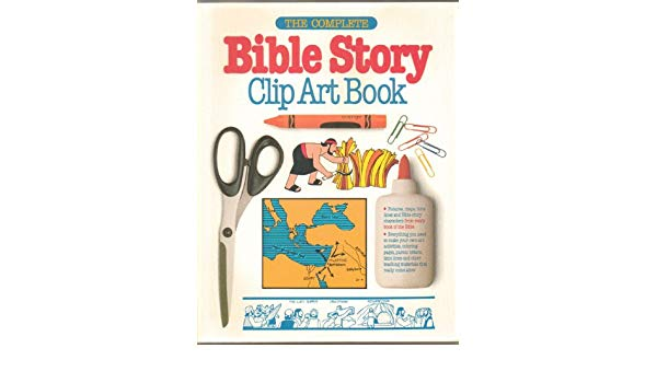 Complete Bible Story Clip Art Book: Amazon.co.uk: C.Peter.