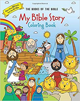 My Bible Story Coloring Book (Books of the Bible): Amazon.co.