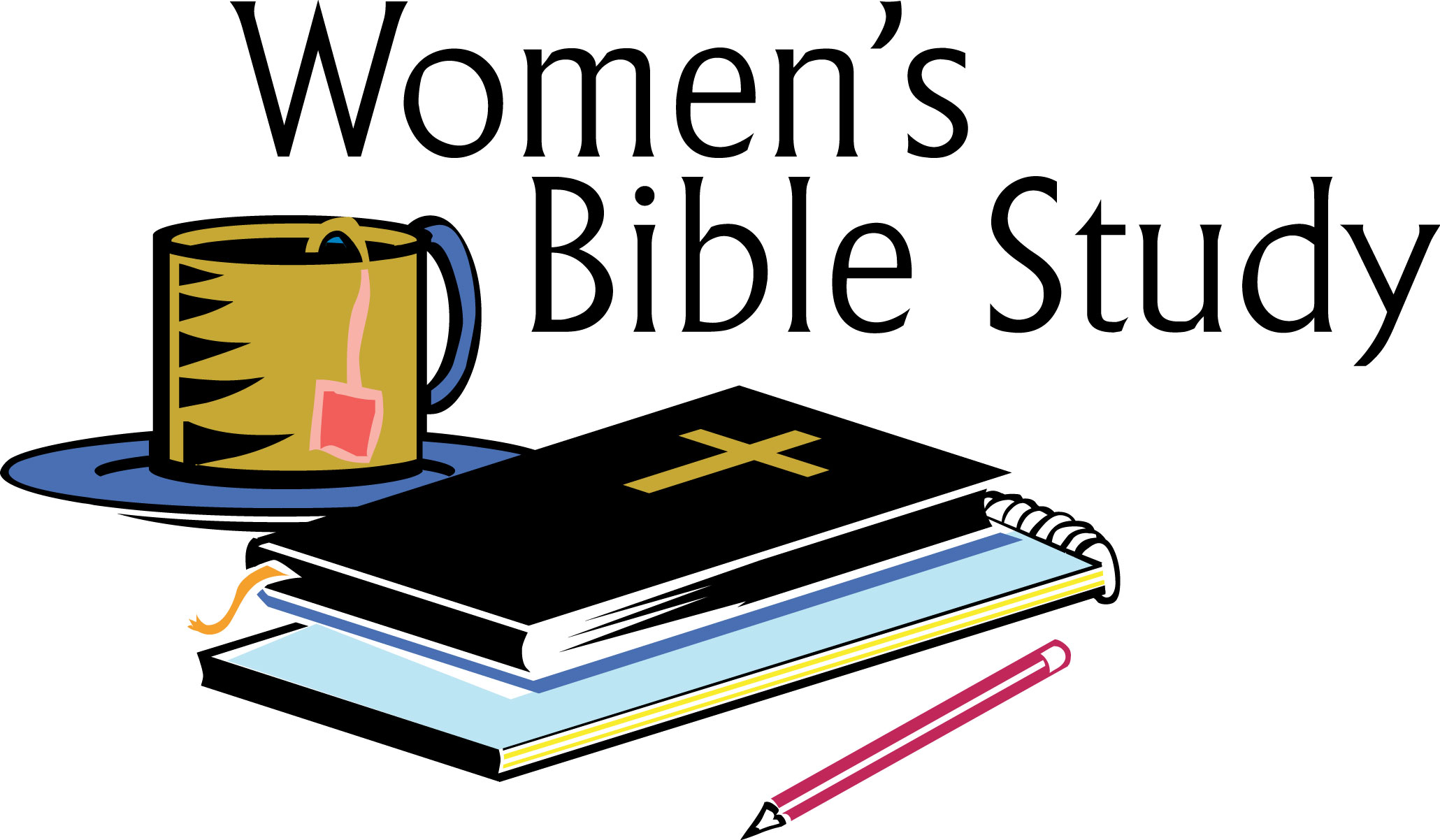Womens bible study clipart.