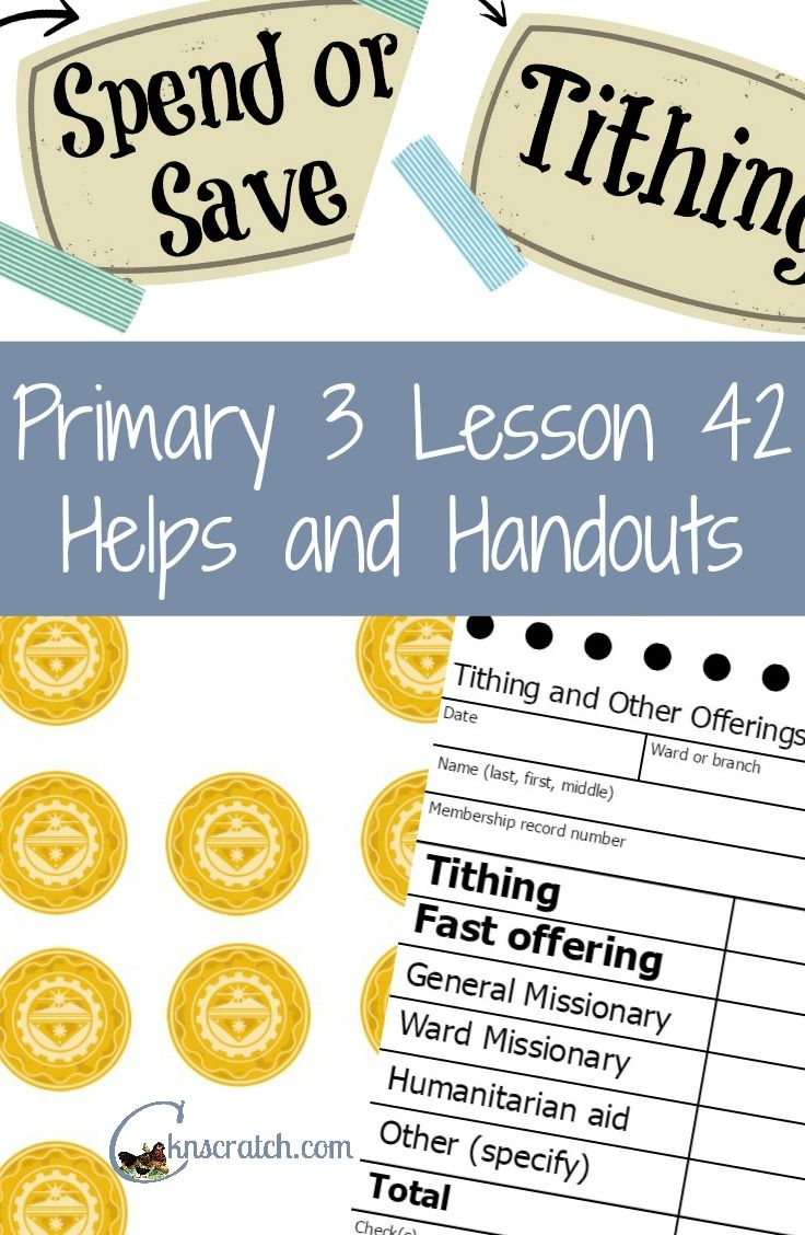 Lesson 42: Tithing.