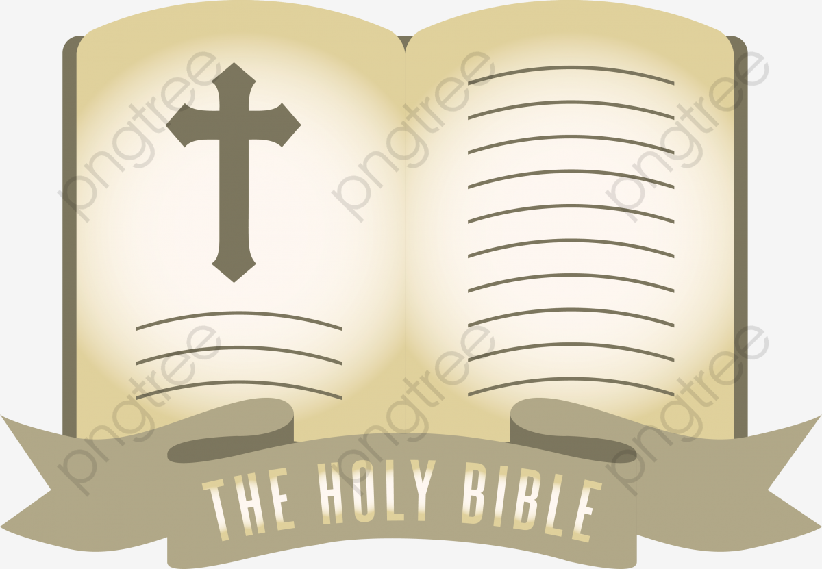 Vector Illustration Open Bible, Open Bible, Bible, Vector PNG and.