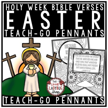 Christian Easter Bible Verses Coloring Teach.