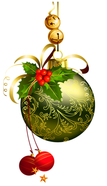 Christmas Balls Clip Arts Free Download.