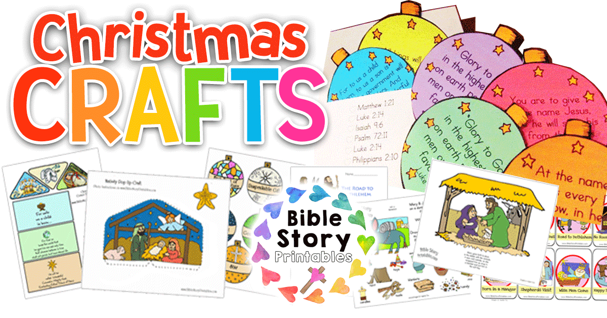 Christmas Bible Printables.