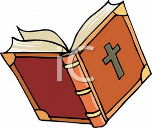 Contemporary Christian Bible Clipart.