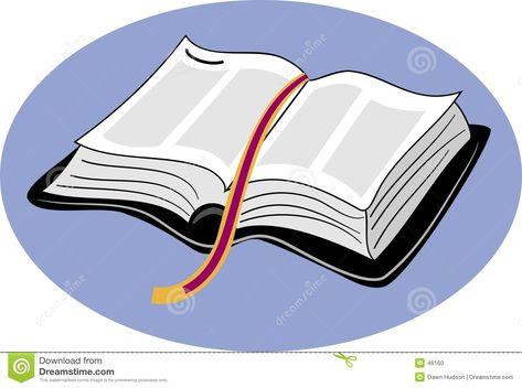 Biblia Abierta Clipart.