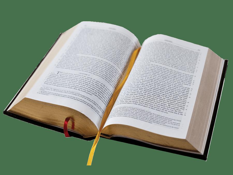 Biblia Abierta PNG transparente.