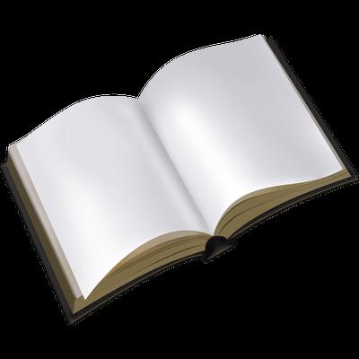 Libro imagen PNG transparente.