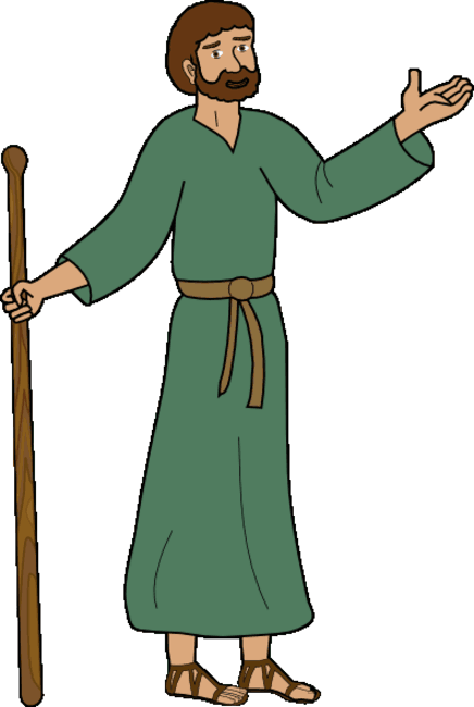 Bible Character Clipart.
