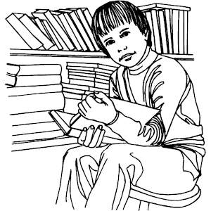 Free Librarian Clipart Black And White, Download Free Clip.