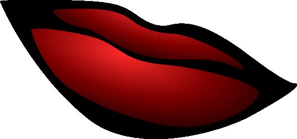 Red Lips Clip Art at Clker.com.