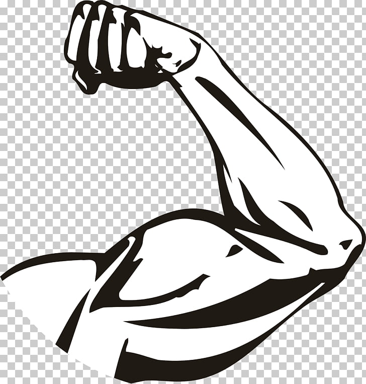 We Can Do It! Muscle Poster Biceps, strong arms, arm illustration.