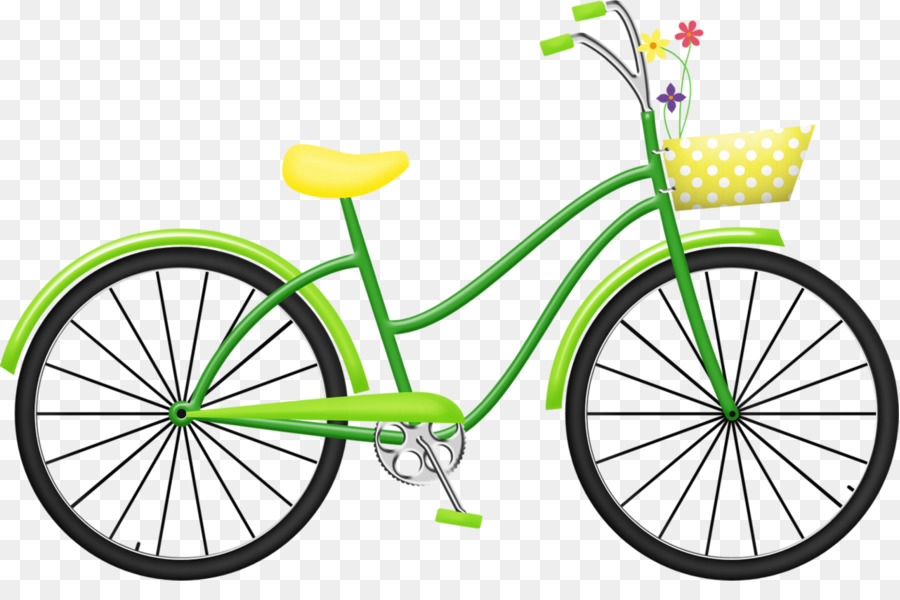 Bicycle, Yellow, Product, transparent png image & clipart free download.
