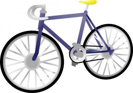 Imágenes clip art y gráficos vectoriales Bicicleta gratuitos.