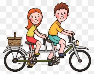 Desenho Familia De Bicicleta Clipart (#892290).