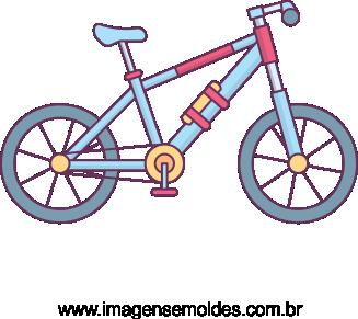 Imagem Bicicleta Vetorizada 02.
