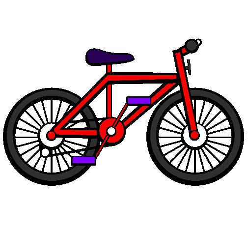 Desenho de Bicicleta pintado e colorido por Usuário não registrado o.